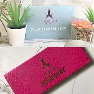 Jeffree Star Androgyny/ Platinum Ice Palettes